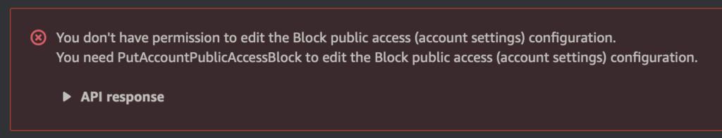 jak bezpiecznie przechowywać dane na s3 blokowana zmiany ustawień Public Access